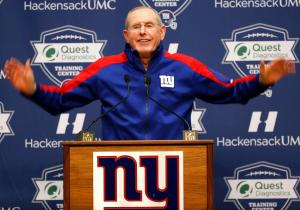 Tom Coughlin arms